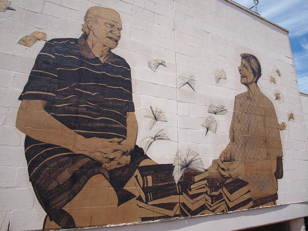 Jane and Trevor, Mural
