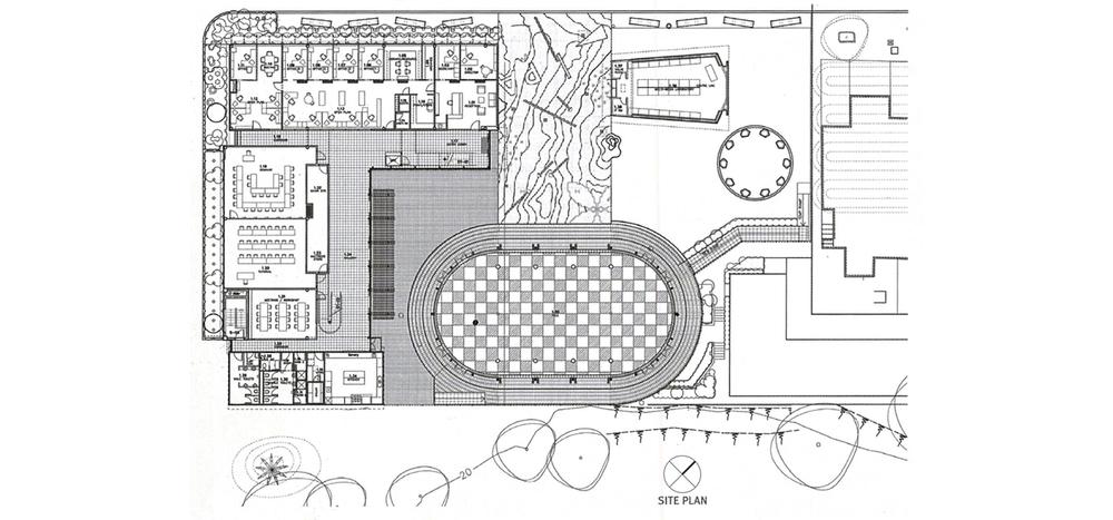 Figure 6  - Fale Pasifika Complex Site Plan.