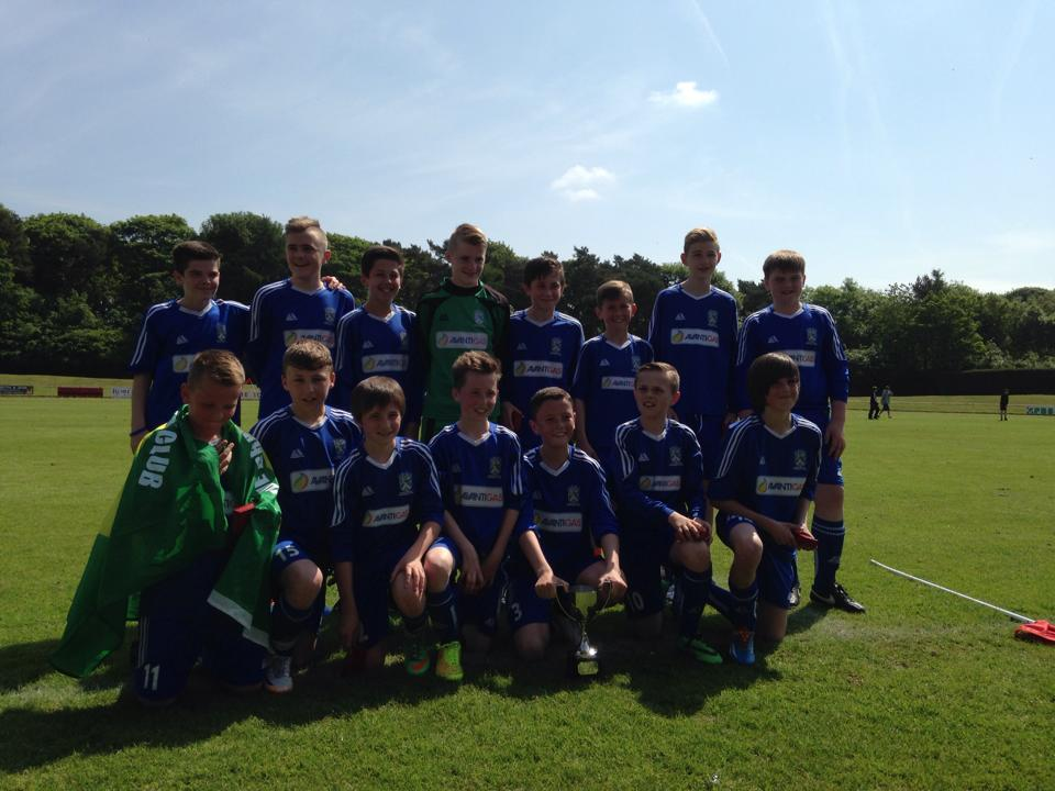 Fife Cup Winners 2013 - 2014