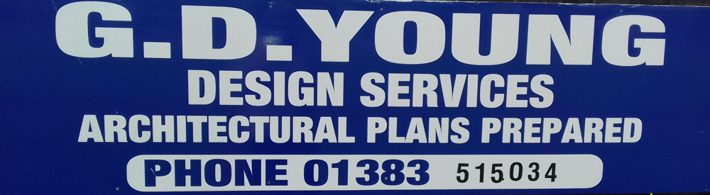 G.D. YOUNG - DESIGN SERVICES Architectural plans prepared 01383 515034