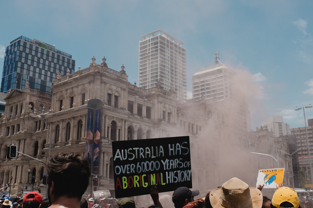 Invasion Day march, 2017