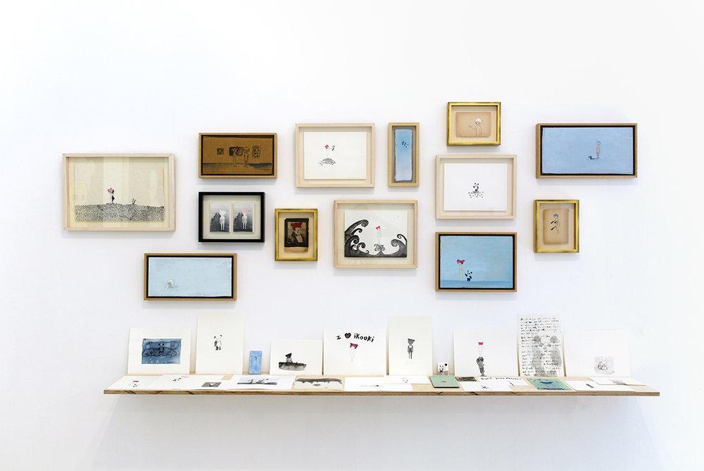 i love ikooki Installation view