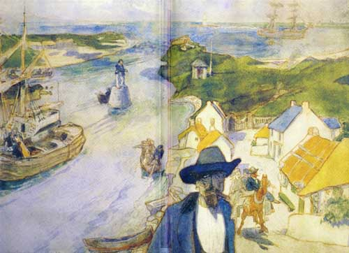 Memory Harbour by Jack Yeats