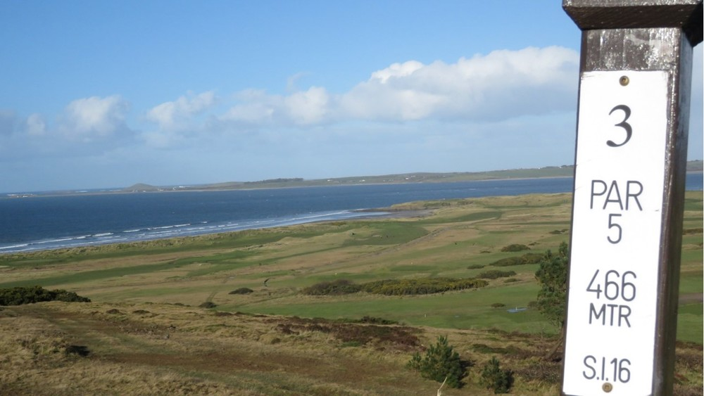 3rd Tee Overlooking Links