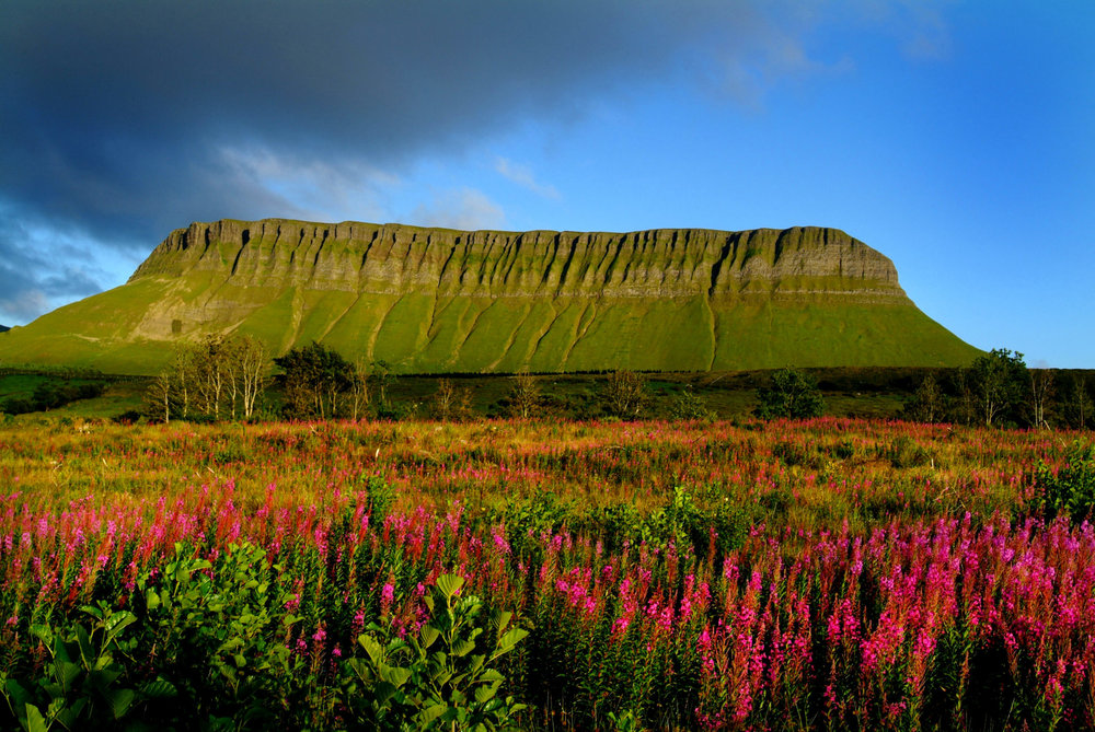 BENBULBEN   Sligo's Table Top Mountain