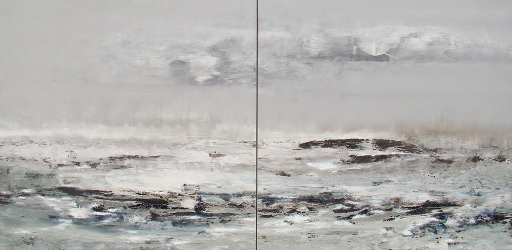 Mar de fondo  (díptico 2 x 115 x 115)