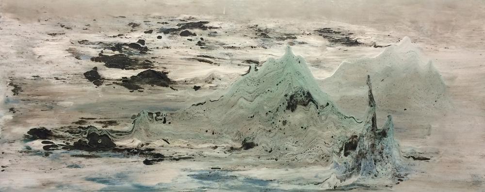 En la orilla  (150x60)