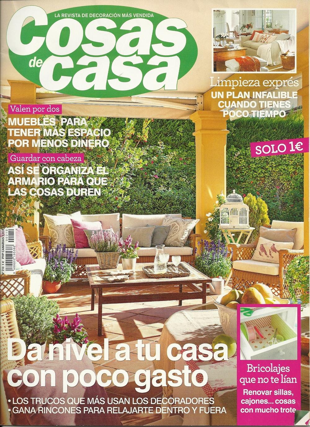 Cosas de casa decoracion free cosas de madera para for Cosas de casa revista decoracion