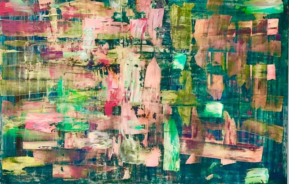 Perdido en el color  (150 x 100)
