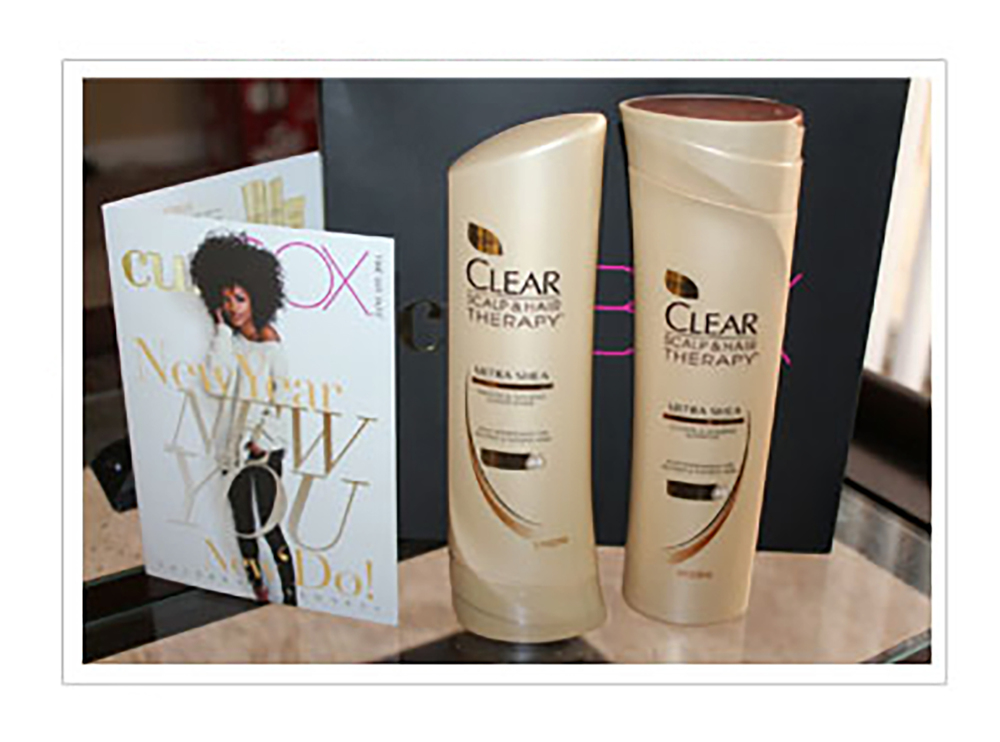 Subscribers receive full-size samples              and a branded CLEAR Ultra Shea brochure.
