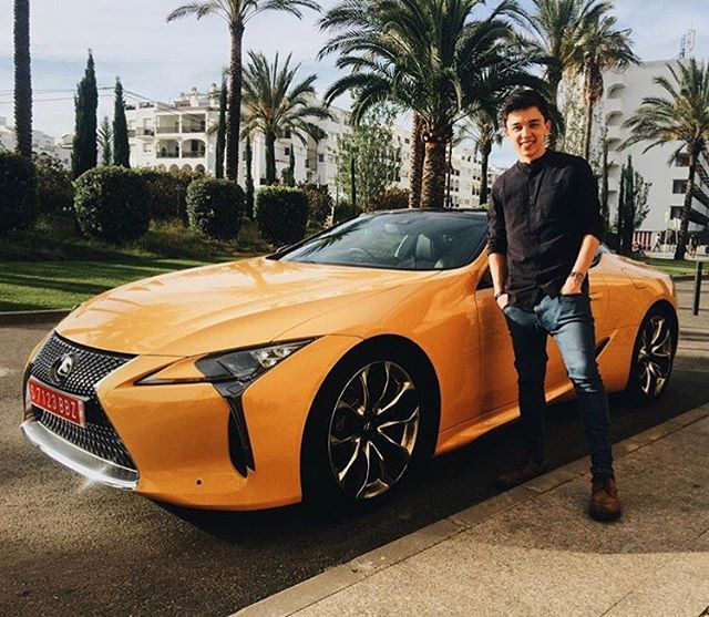 Go follow @kymannpower immediately. Lexus have gone and flown him out to Ibiza, given him a brand new (not yet released) Lexus LC and are sitting him down with Mark Ronson to have a chat. Now, as you were.
