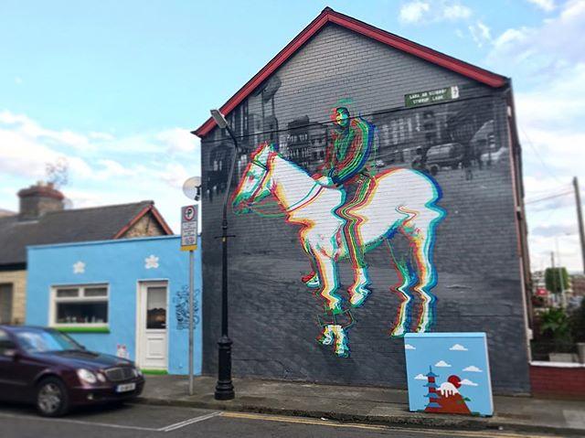 Dublin mural.