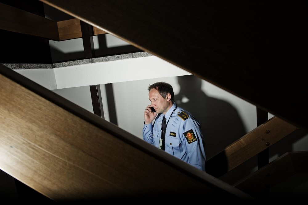 Thor Atle Pedersen, leder for avsnittet for organisert kriminalitet