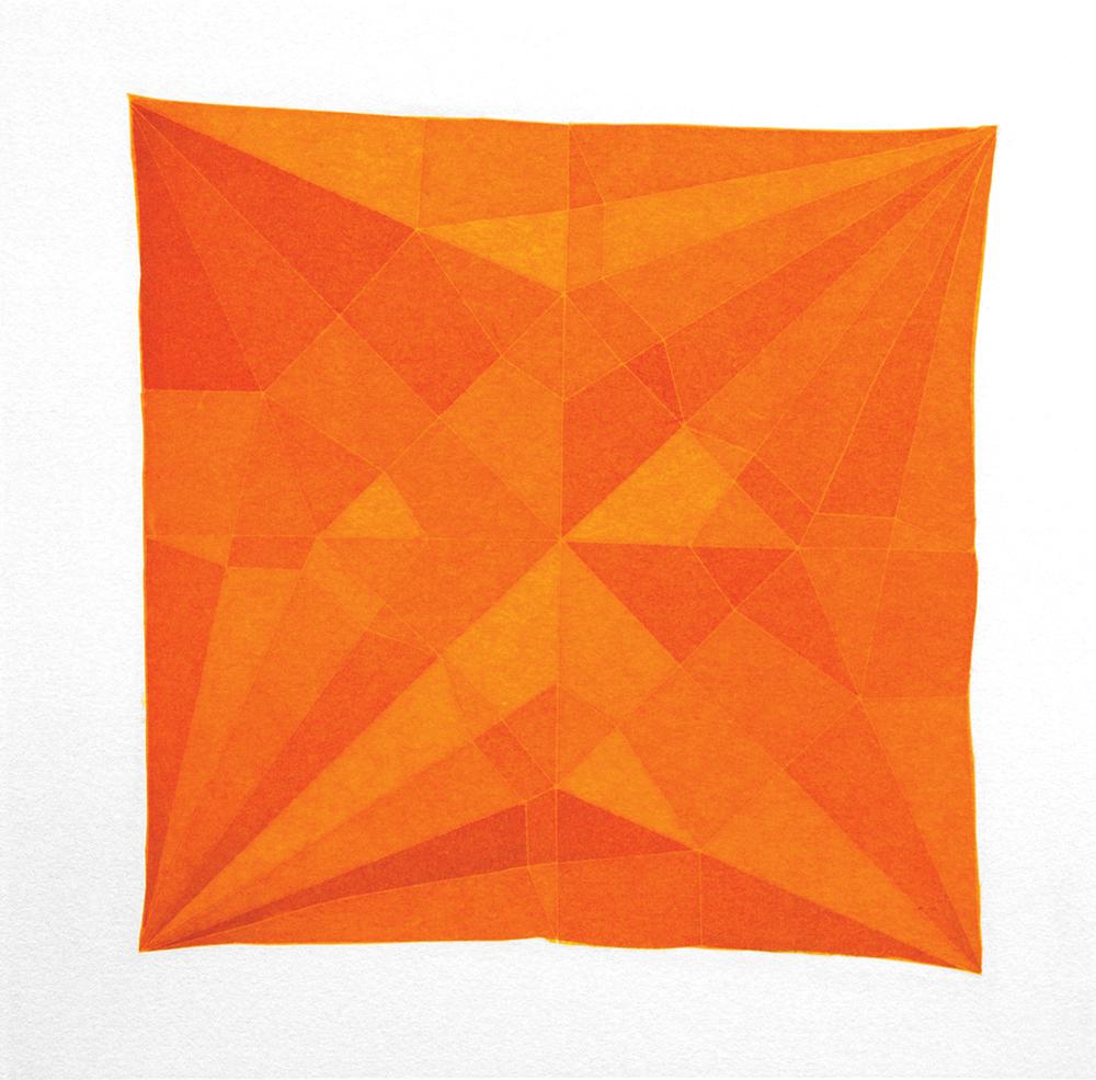 Origami Crane Orange, 2014