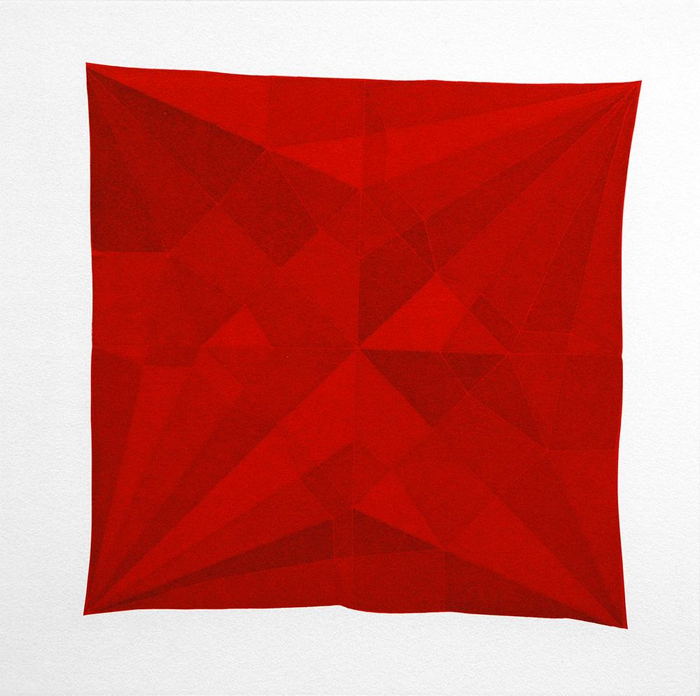 Origami Crane Red, 2014