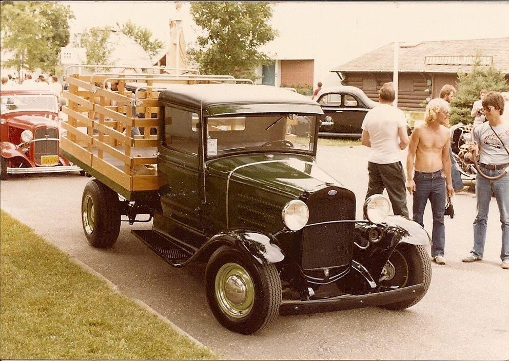 Slovers truck,  I knew it in Grade School watching Pete Pine Sr. using it for his roofing business.