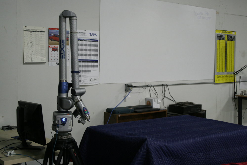 Faro ScanArm - Reverse Engineering, Part-to-CAD, & Laser Inspection