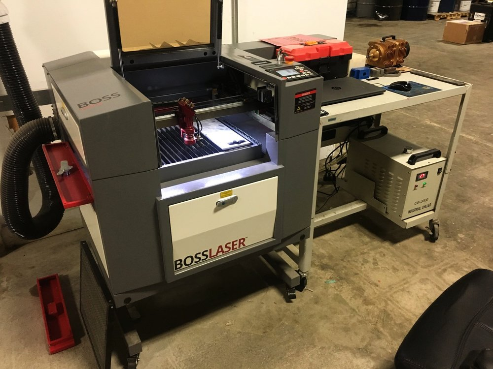 BOSS 1416 - CNC Laser