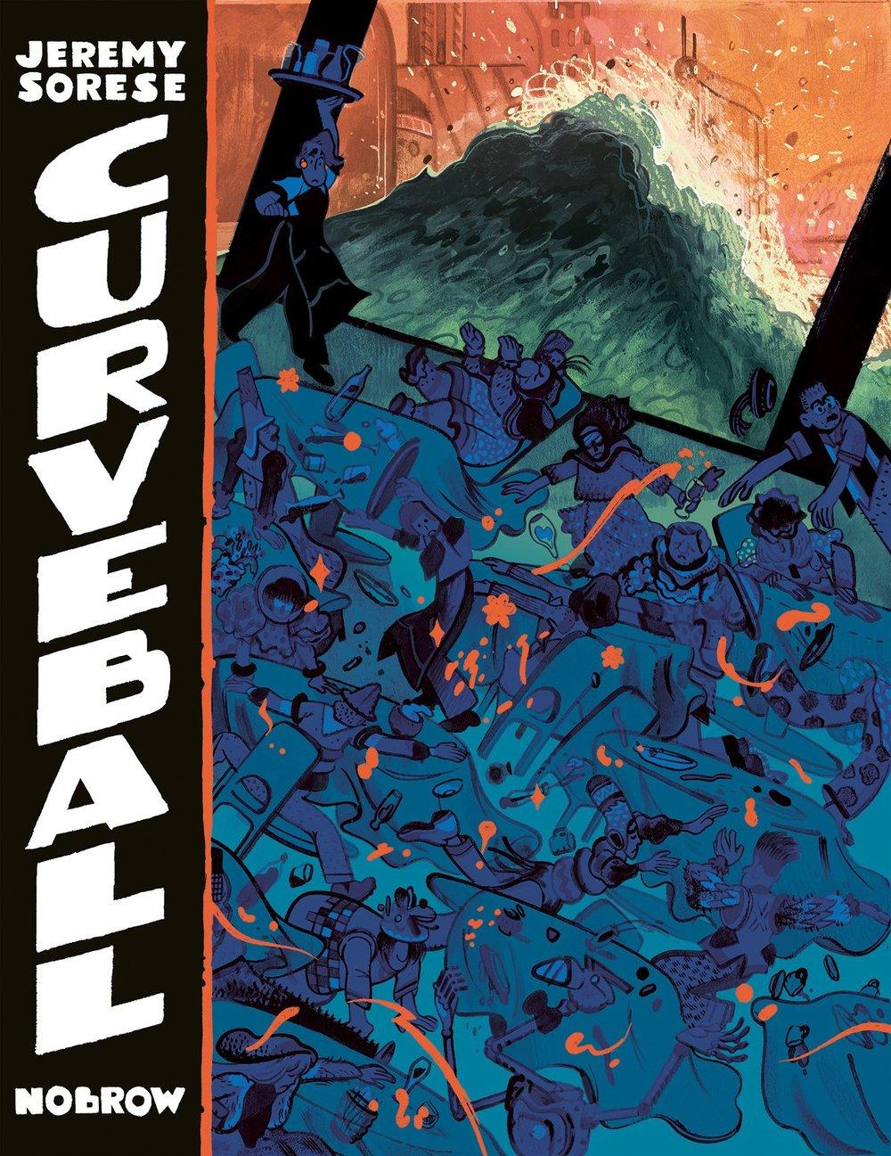 CURVEBALL by Jeremy Sorese Nobrow Press, November 2015
