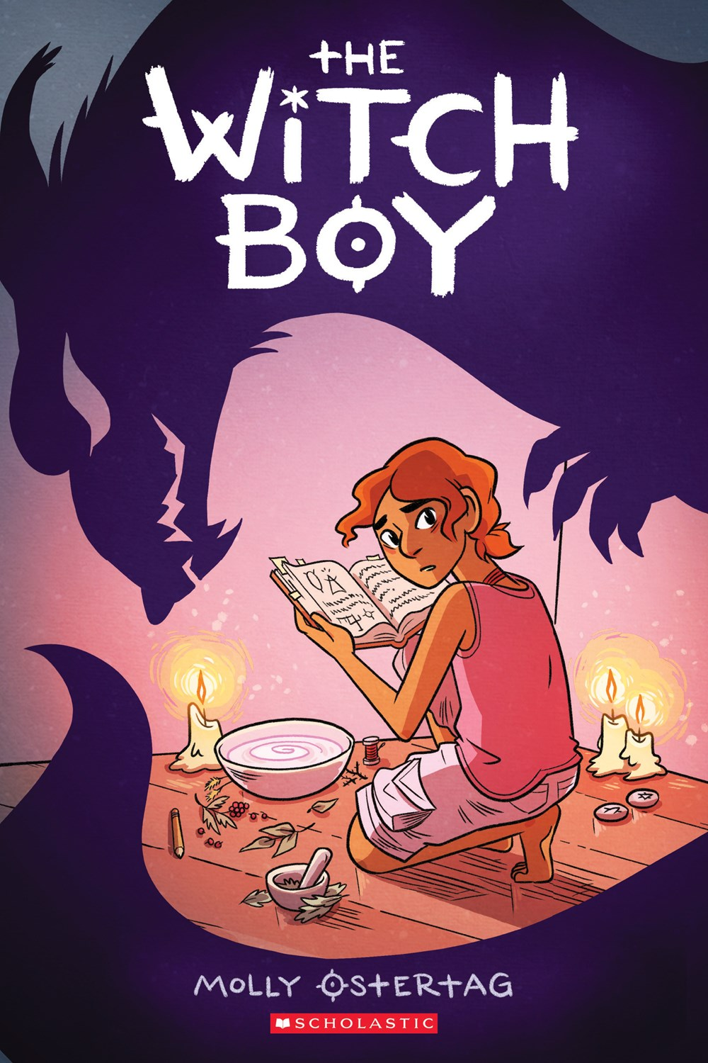 THE WITCH BOY by Molly Ostertag (Scholastic, Oct. 2017)