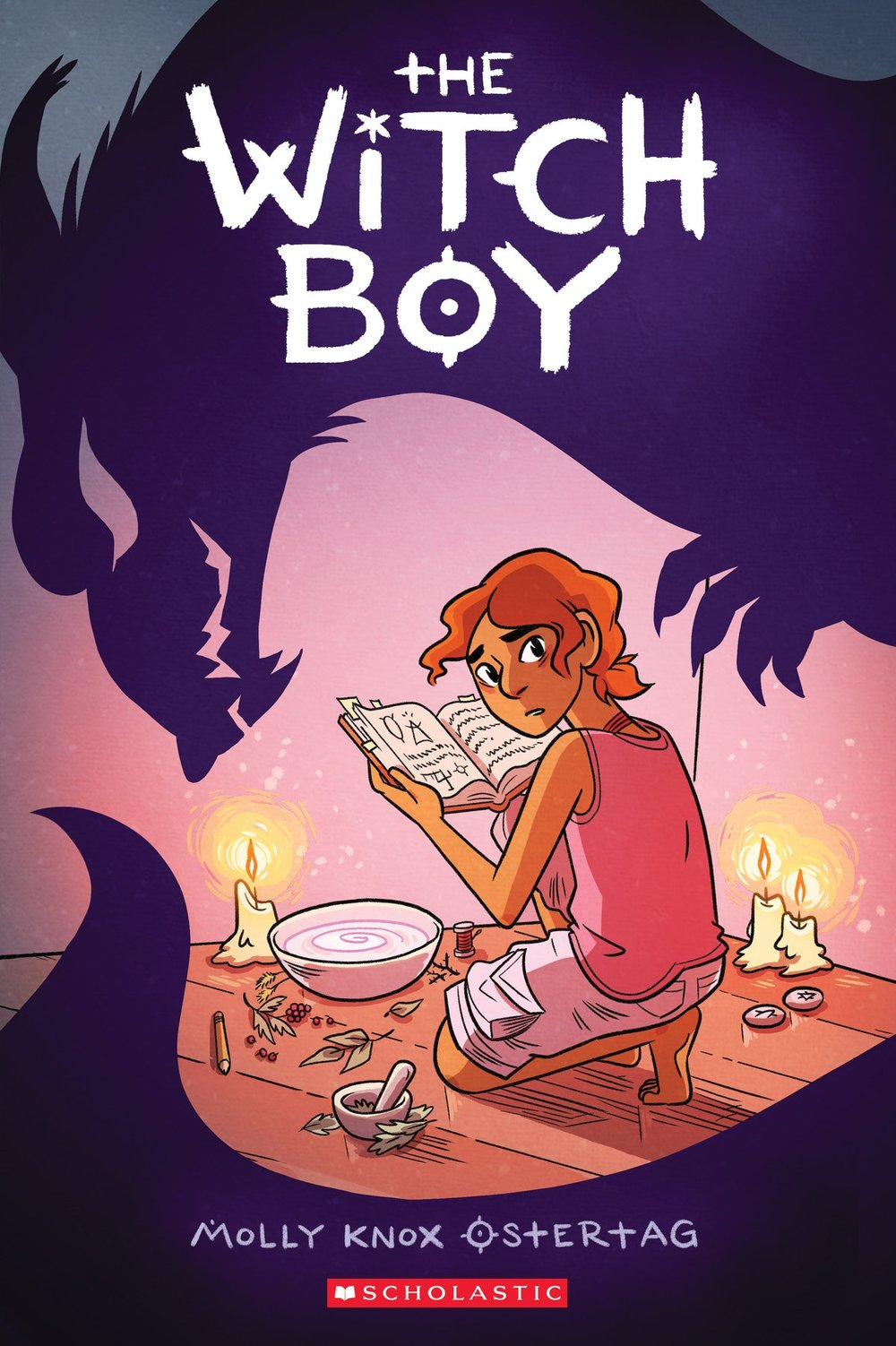 - THE WITCH BOY(Scholastic Press, Oct. 2017)2018 EBSCO SEE-IT Award winner2018 Prism Award winner2018 EGL finalist2018 Dwayne McDuffie for Kid's Comics nomineeFilm/TV: Fox AnimationTranslations: rights@scholastic.comFrance (Editions Kinaye)Germany (Tokyopop GMBH)Israel (Keter Books)Italy (Editrice Il Castoro)Spain (HarperCollins Iberica)Sweden (Bokforlaget Hegas)In thirteen-year-old Aster's family, all the girls are raised to be witches, while boys grow up to be shapeshifters. Anyone who dares cross those lines is exiled. Unfortunately for Aster, he still hasn't shifted . . . and he's still fascinated by witchery, no matter how forbidden it might be.When a mysterious danger threatens the other boys, Aster knows he can help -- as a witch. It will take the encouragement of a new friend, the non-magical and non-conforming Charlie, to convince Aster to try practicing his skills. And it will require even more courage to save his family . . . and be truly himself.