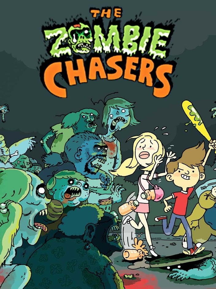 - THE ZOMBIE CHASERSBooks 1-3 - cover and illustrations(Alloy, 2010-2012)