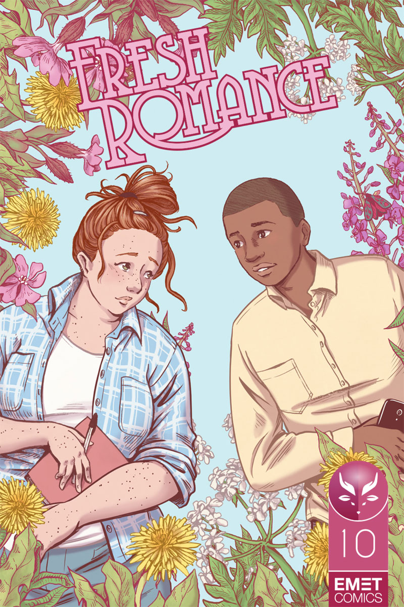 - UNDER THE OAK TREES(Emet Comics - Fresh Romance, 2017)Practical forest retreat grounds keeper Abby and passionate city entrepreneur Chris are drawn to each other the minute they meet. But are their differences in temperament simply more pain than a relationship is worth?