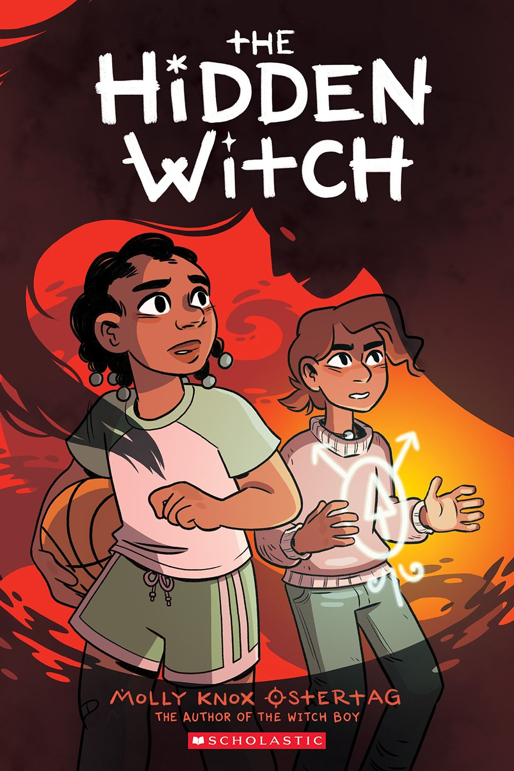 - THE HIDDEN WITCH(Scholastic Press, Oct. 2018)Translations: rights@scholastic.comFrance (Editions Kinaye)Aster and his family are adjusting to his unconventional talent for witchery; unlike the other boys in his family, he isn't a shapeshifter. He's taking classes with his grandmother and helping to keep an eye on his great-uncle whose corrupted magic wreaked havoc on the family.Meanwhile, Aster's friend from the non-magical part of town, Charlie, is having problems of her own -- a curse has tried to attach itself to her. She runs to Aster and escapes it, but now the friends must find the source of the curse before more people -- normal and magical alike -- get hurt.