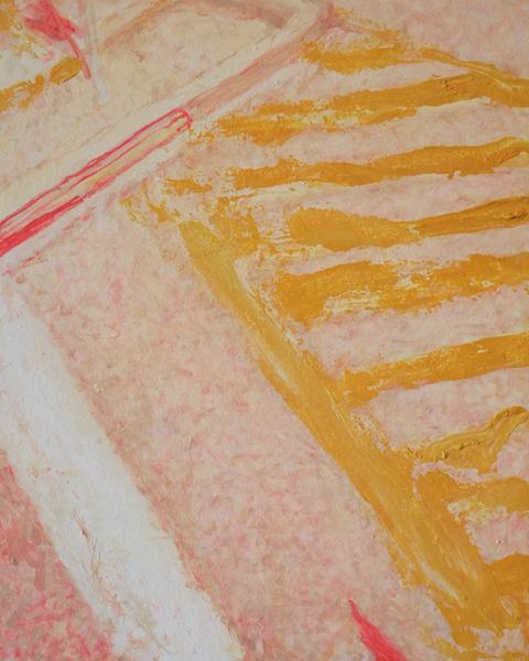 Crosswalk , Oil on Wood