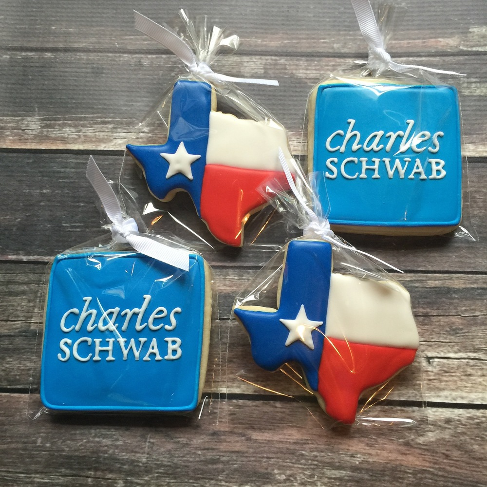 Charles Schwab cookies for gift basket