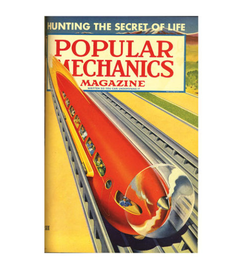 Popular Mechanics, 1950, Vacuum Tube Powered Trains
