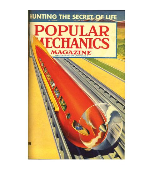 Popular Mechanics, 1950, Vacuum Tube Powered Trains