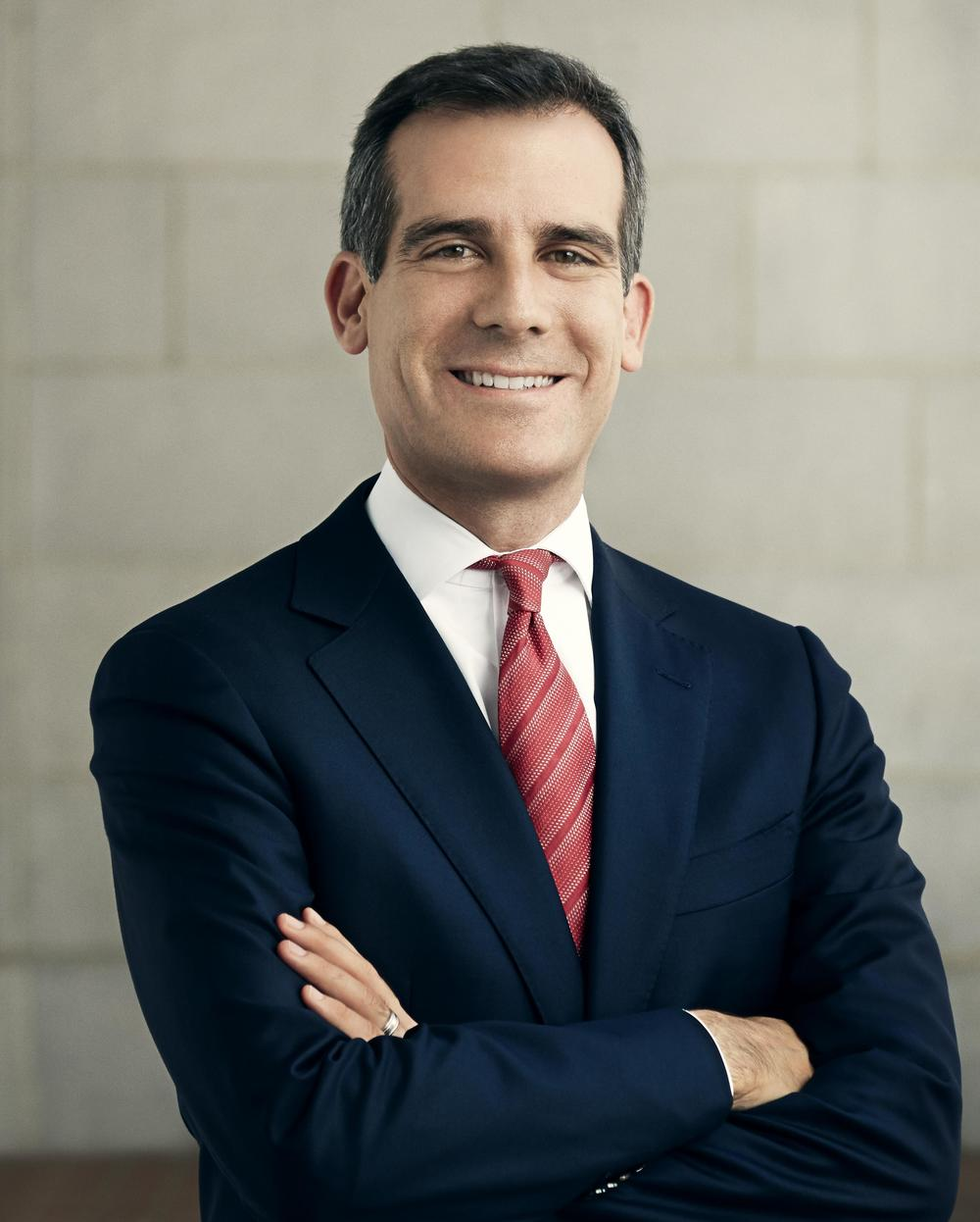 "Eric Garcetti Mayor Los Angeles   ""A big part of reinvigorating our Great Streets is making them more user-friendly, so the goal of this project is simple but meaningful: upgrade our bus shelters and benches with charging and WiFi to make waiting for the bus an opportunity, not a chore.""  Read more"