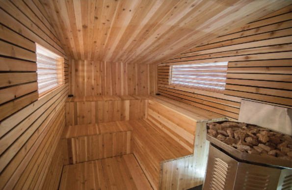 2. Little Box Sauna - A mobile sauna in Bloomington, MN with a grant from the National Endowment for the Arts.