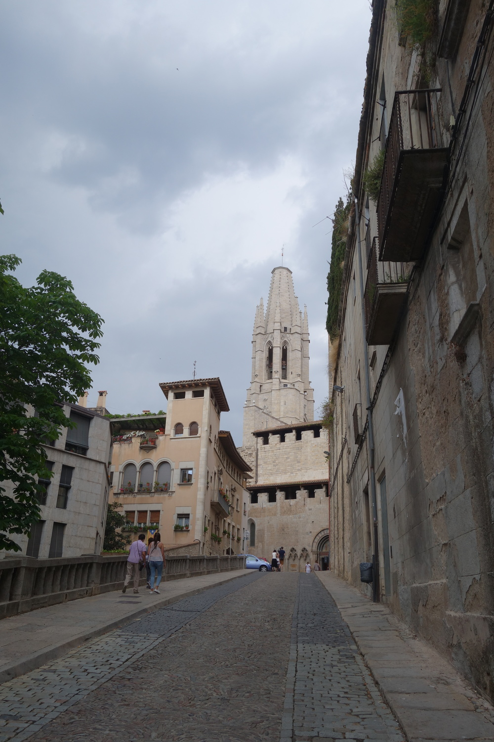 The cathedral in Girona