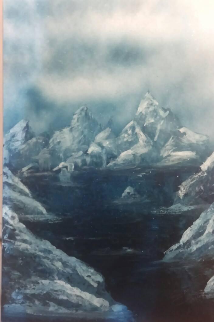 Glistening glacier 2/5/2015