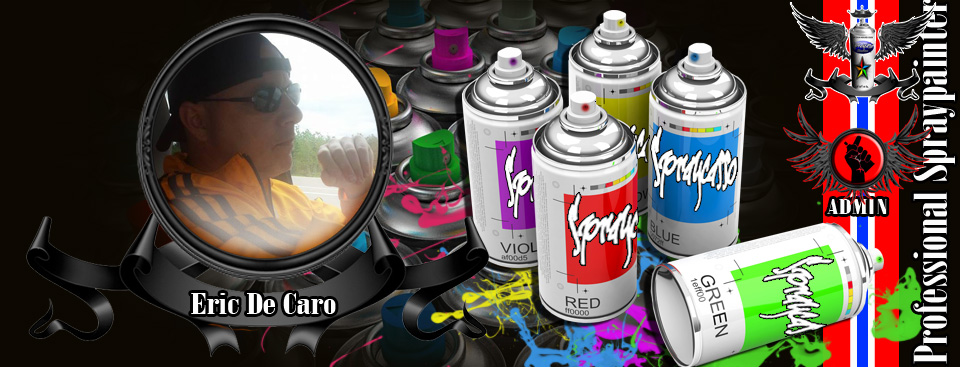 We are glad to welcome eric de caro to our admin team. Eric is an active member of the revolution  and enjoys creating diverse styles of spraypaintings. come check out his works as well as his fun group chats and questionnaires.