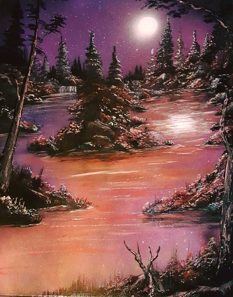 Title: Moon's Lake