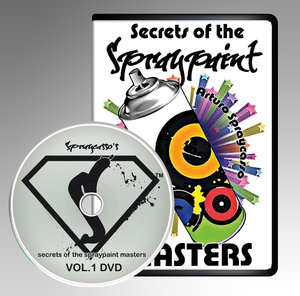 Secrets of the Spraypaint masters DVD Vol.1 (2014)