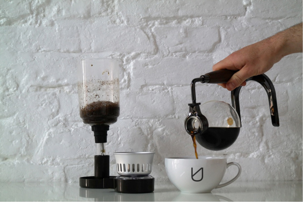 Now your coffee is ready, pour and enjoy.