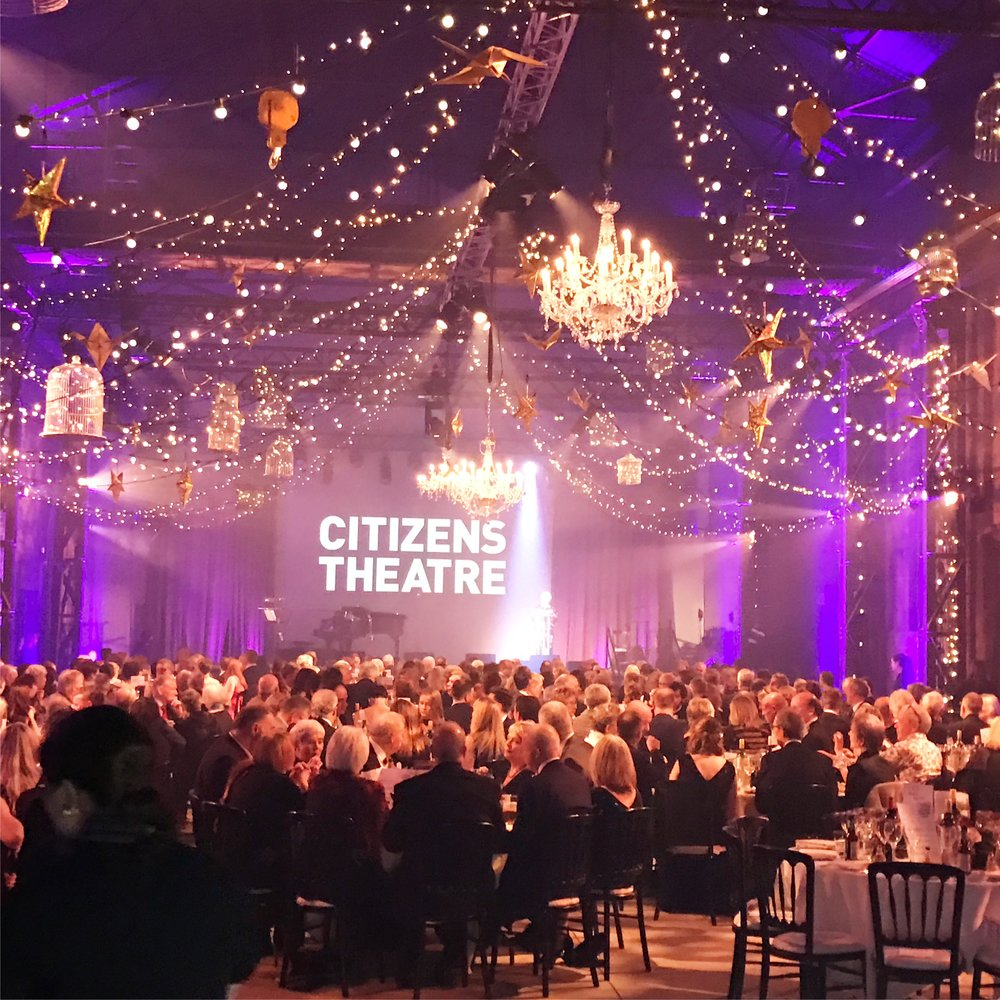 Citizens Theatre Glasgow Gala Dinner Event