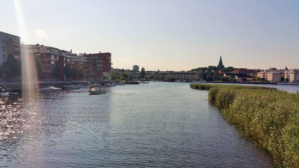 The sparkling water of Hammarby