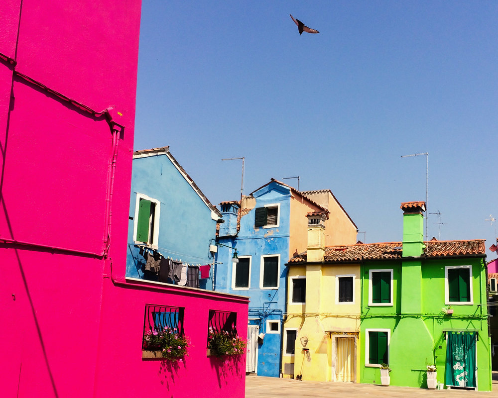 A Hot Day in Burano, 2014