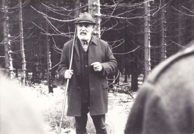 Josef Vágner in his winter years. Photo courtesy Lenka Vágnerová