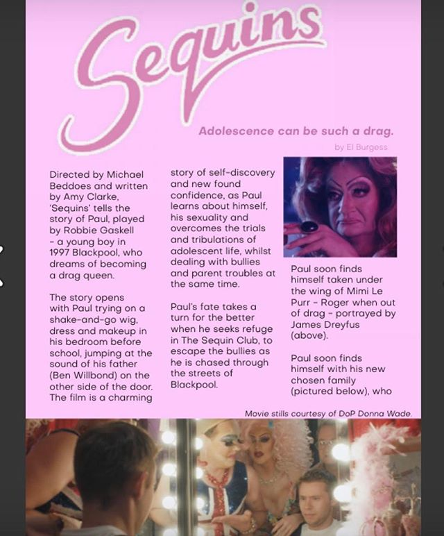 The awesome drag mag @bornnaked_uk have done a really lovely 2 page feature on Sequins in their latest issue. Also they discuss the wish list for Drag Race UK amongst many other drag goodies. The mag is free so check it out! https://issuu.com/bornnakeduk/docs/born_naked_issue_7/18 . . #sequinsfilm #bornnakeduk #filmreview #magazine #dragraceuk #rupaulsdragrace #dragmag #dragqueen #shortfilm #lgbtfilm #lgbtmagazine #lgbtq #britishfilm