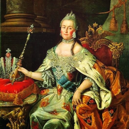 Portrait of Empress Catherine The Great