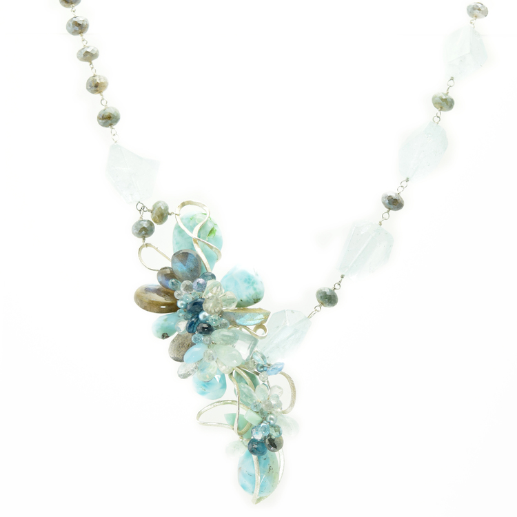 Waves Necklace by Andrea Li  $2,697.00 | One of a Kind      >Shop Item