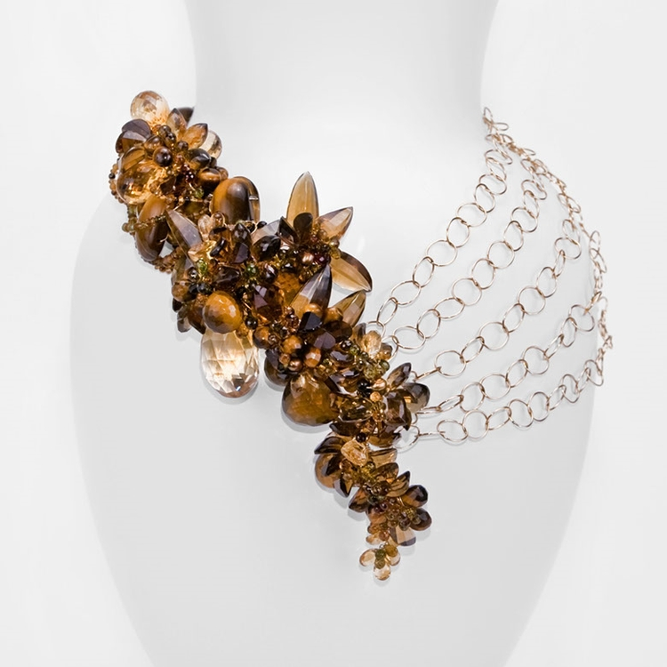 Summer Fields Necklace by Andrea Li  $7,898.00 | One of a Kind      >Shop Item