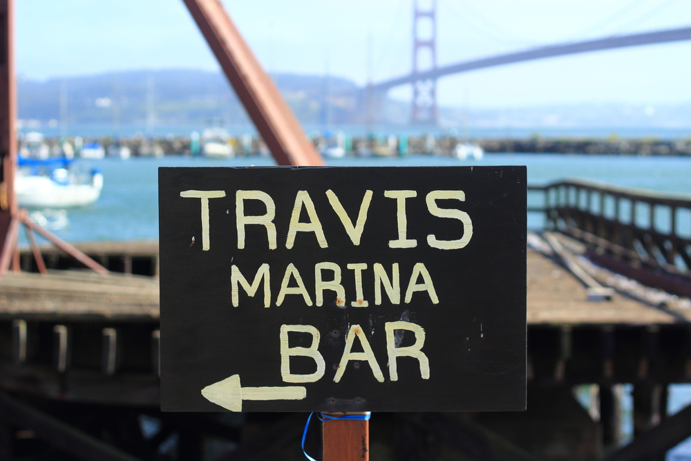 Travis Marina Bar, Fort Baker, Sausalito