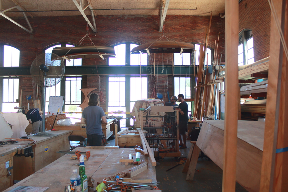 The International Yacht Restoration School, Newport, RI